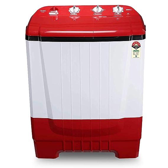 Onida 8 kg 5 Star Auto Scrub Technology, Semi Automatic Top Load Washing Machine  S80ONR