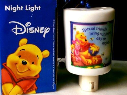 Disneys Winnie the Pooh Porcelain Nightlight