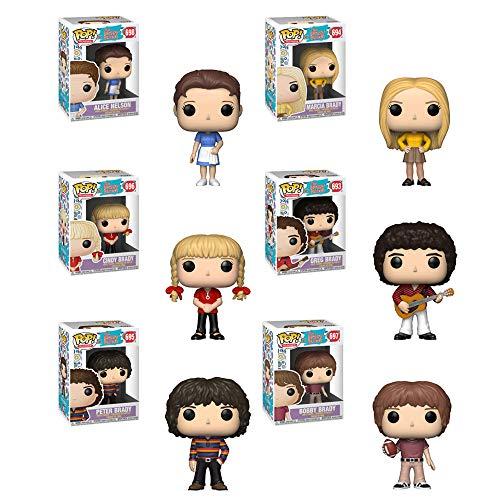 Funko Pop! Bundle of 6: The Brady Bunch - Alice, Marcia, Cindy, Greg, Peter and Bobby ()
