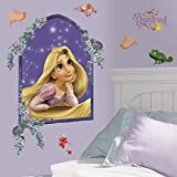 RoomMates RMK1525GM Rapunzel Peel & Stick Giant Wall Decal