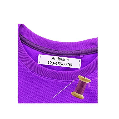 (Personalized Sew-On Name Labels | Printed Sew-On Name Tags)