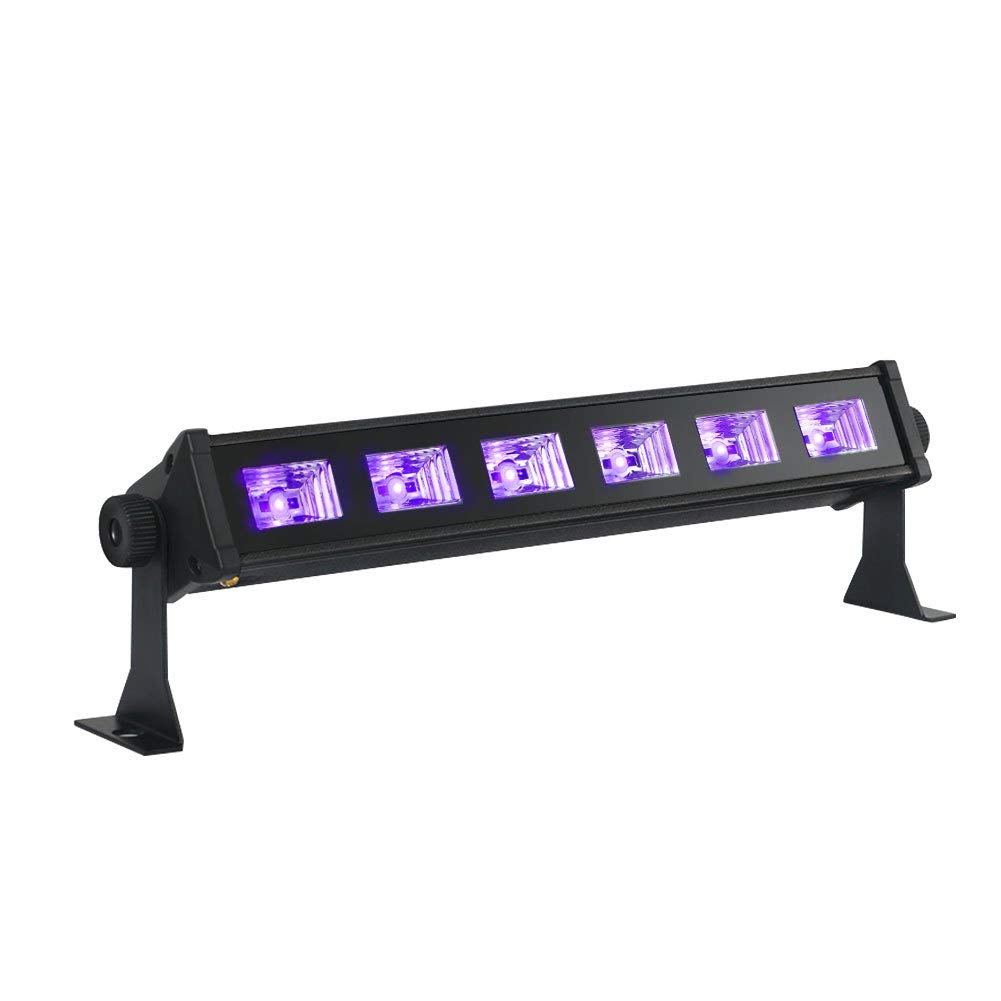 Amazon.com: Barra negra de luces, de OPPSK, cono 9 LEDs de 3 ...