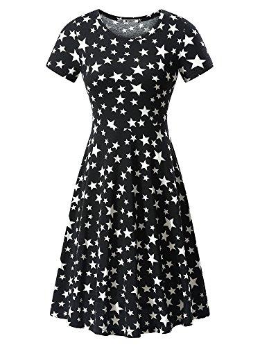 Cotton Short Sleeve Skirt - 5
