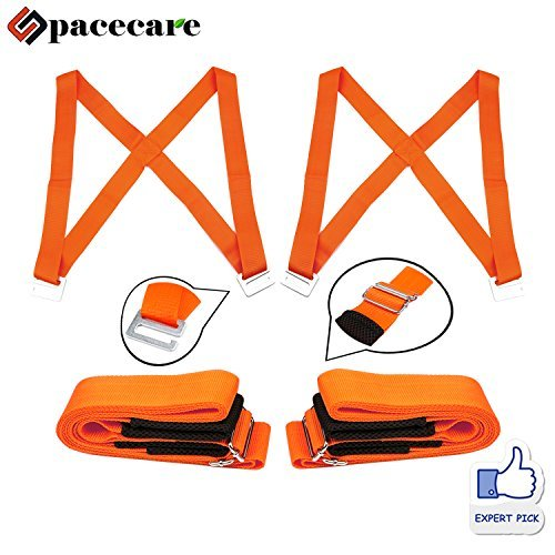 SPACECARE Moving Straps 2 Person Lifting and Moving Dolly for Furniture, Appliance and Heavy Object