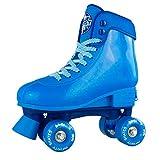 Infinity Skates Soda Pop Adjustable Roller Skates for Girls and Boys | Blue Medium