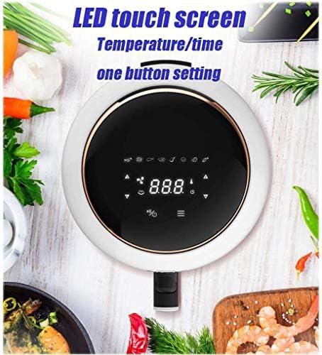 , Fácil de freidora limpia, 1500W, 4.2L, 8 menú preestablecido, pantalla táctil digital, cocina sin aceite, horno pequeño, blanco