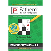 Pathem: the path word puzzle: Famous Sayings
