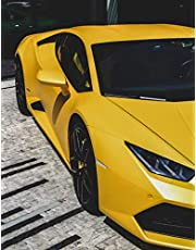 Lamborghini Huracan Orange Undated Daily Planner for Men: Custom interior to write in with to do lists, notes,log book, calendar. Perfect gift for birthday or any occasion