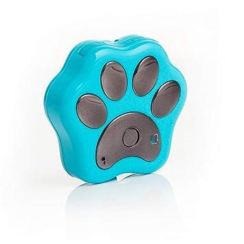 Rastreador de mascotas Mini monitor de actividad GPS para perros y gatos Seguimiento en tiempo real