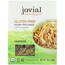 Jovial Organic Brown Rice Caserecce, 12-Ounce Packages (Pack of 6)