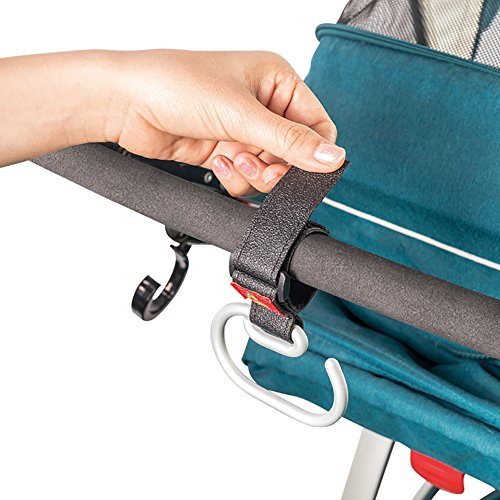 Stroller Hooks for Diaper Organizer, Great Strength Shopping Bags Carrier, 2 of Set by YIIGO (Image #2)