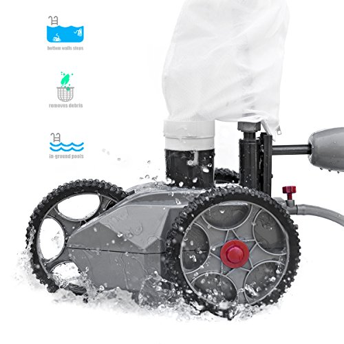 Xtremepowerus Pressure Side Pool Cleaner Automatic Pool
