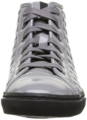 Geox D New Club D - Zapatillas Mujer Gris