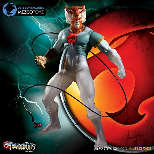 SDCC 2016 Exclusive ThunderCats Tygra 14-Inch Mega-Scale Action Figure (Phasing Version) by Mezco