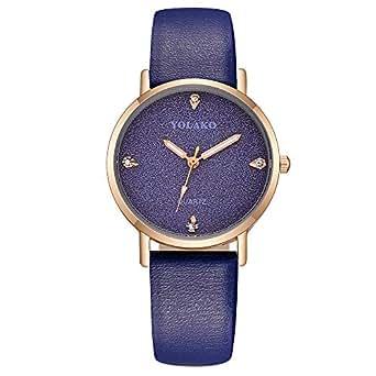 Relojes Pulsera Mujer BBestseller Reloj niña Reloj de Brazalete de Diamantes de señoras Moda para Estudiantes