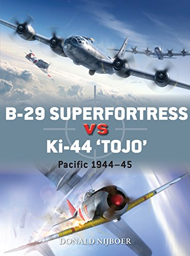 B-29 Superfortress vs Ki-44