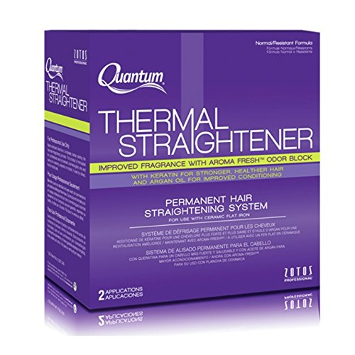 Zotos Quantum Thermal Straightener Normal/Resistant Formula