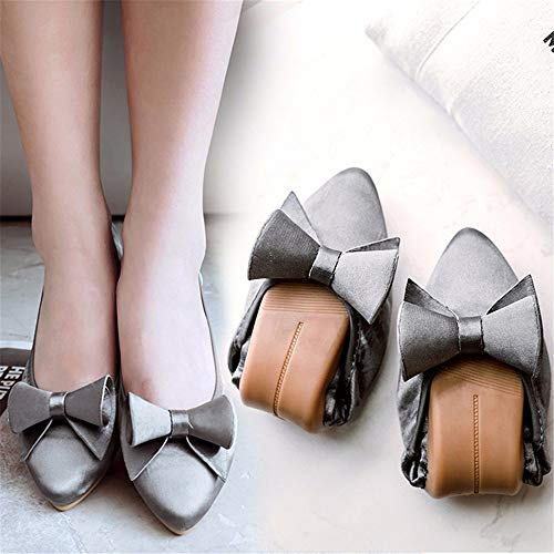 Zapatos Zapatos Planos de Moda de 39 de Las Embarazadas Plegables Baile Fondo FLYRCX 41 Puntiagudo Suave Solos Zapatos Mujeres EU portátil UE de Informal Trabajo Zapatos HyBqXp
