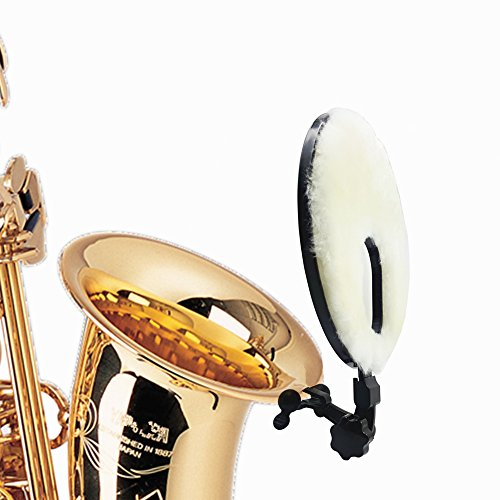 TOCHIC 2 in 1 Saxophone Deflector Mute Silencer for Saxes by TOCHIC