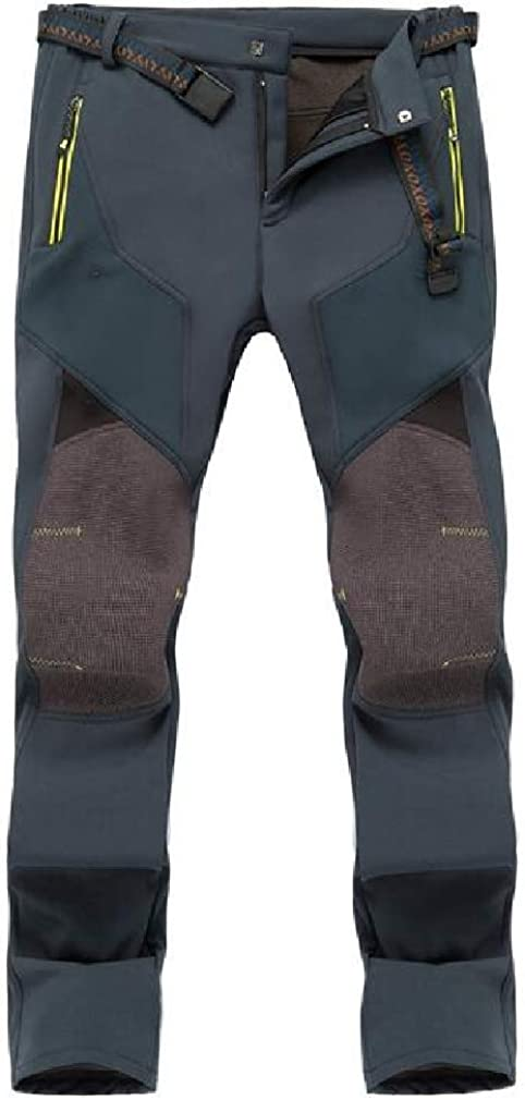 Macondoo メンズ アクティブ トラウザーズ クライミング クイック ドライ ウィンドブレーカー フォール 冬 ウォータータイト アウトドア パンツ