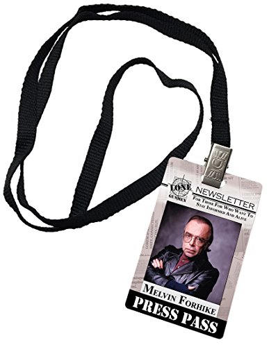Used, Melvin Forhike Press Pass Lone Gunmen X-Files Novelty for sale  Delivered anywhere in USA