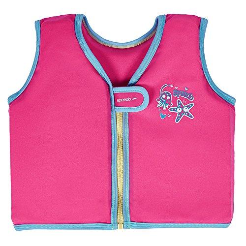 Speedo Blend Tots Swim Vest–Baby Pink  -  -