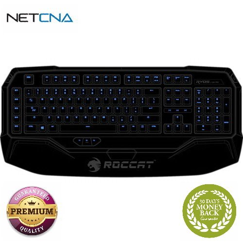 Ryos MK Pro Mechanical Backlit Gaming Keyboard (Red Key Switch) Ryos MK Pro Mechanical Backlit Gaming Keyboard (Red Key Switch) With Free 6 Feet NETCNA HDMI Cable - BY NETCNA