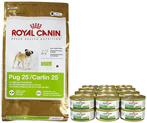 Royal Canin Breed Health Nutrition Adult Pug Bundle