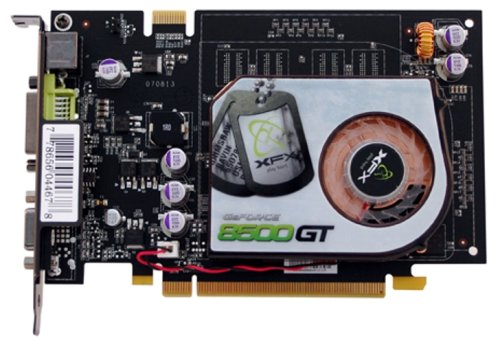 XFX PVT86JWAJG GeForce 8500GT 256MB GDDR2 PCI Express x16 Video Card ( Dual DVI / S-video ) (8500gt Video Card)