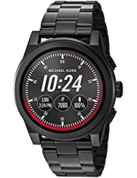 Access, Mens Smartwatch, Grayson Black-Tone Stainless Steel, MKT5029