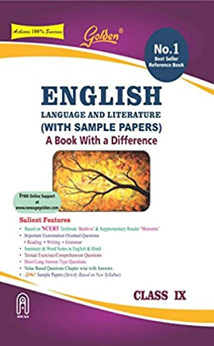 golden english language and literature a book with a differene for rh amazon in CBSE Sample Papers CBSE Schools