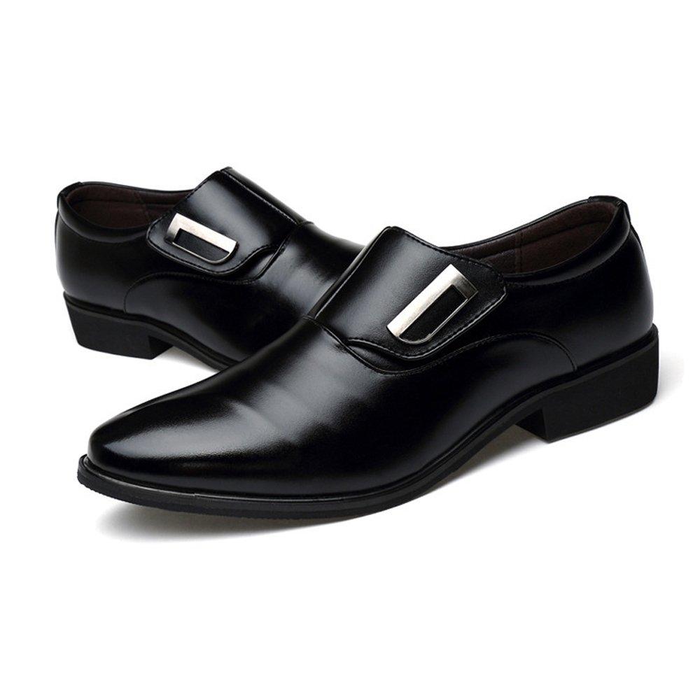 Easy Go Shopping Lederschuhe Herren Business Schuhe Schuhe Schuhe Glattes PU Leder Oberen Slip-on Low Top Oxfords  b95d79