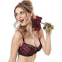 Liliana Noir/Sugar bra by Tutti Rouge - Lingerie for the Fuller Bust