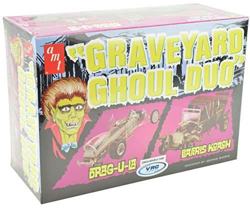 AMT/VRC Hobbies Graveyard Ghoul Duo 1:25 Scale Plastic Model Car Kits 1017