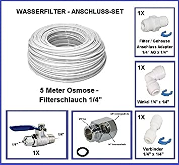 Wasseranschluss Adapter Set 3 8 Zoll Fur Wasserfilter Osmoseanlage