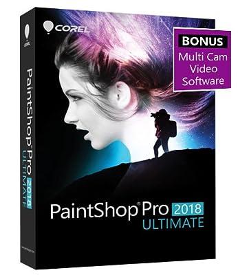 PaintShop Pro 2018 Ultimate - Amazon Exclusive