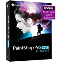 Corel Paintshop Pro 2018 Ultimate Photo With Multi-cam Video Editing