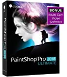 Corel PaintShop Pro 2018 Ultimate Photo with Multi-cam Video Editing Software for PC (Amazon Exclusive)