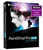 Corel Paint Shop Pro 2018 Ultimate - Amazon Exclusive - Includes Multi Cam Video Software