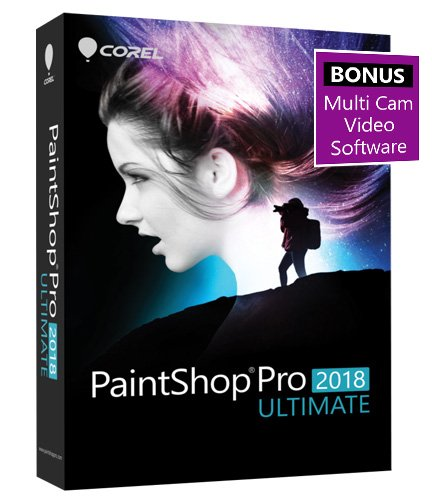 Corel PaintShop Ultimate Multi cam Exclusive