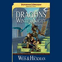 Dragons of Winter Night: Dragonlance: Chronicles, Book 2 Audiobook by Margaret Weis, Tracy Hickman Narrated by Paul Boehmer