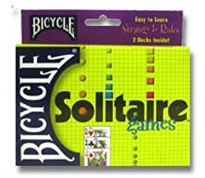 Bicycle Solitaire Playing Card