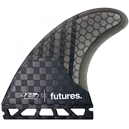 Future Fins Generation Series Hayden Shapes HS2 V2 Honeycomb Carbon Thruster surfboard fin set (medium) by Future Fins