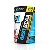BPI Sports Best BCAA Shredded Caffeine Free Thermogenic Recovery Formula for Lean Muscle Growth, Watermelon Ice, 50 servings