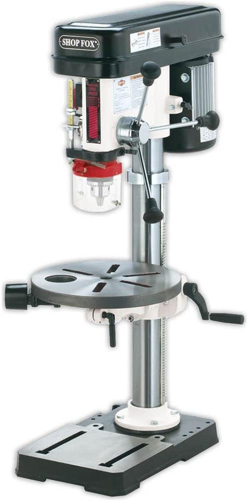 Shop Fox W1668 ¾-HP 13-Inch Bench-Top Drill Press/Spindle Sander ...
