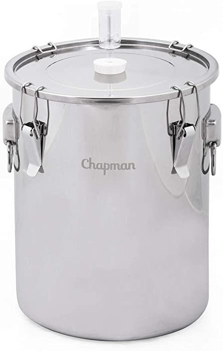 Chapman Portless 14 Gallon Stainless Steel Fermenter