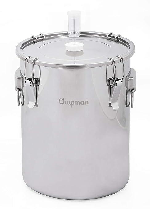 Amazon.com: Chapman 7 fermentador de galón Acero Inoxidable ...