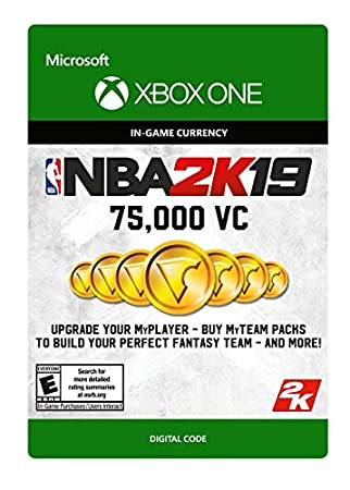 NBA 2K19: 75000 VC Pack - Xbox One [Digital Code]