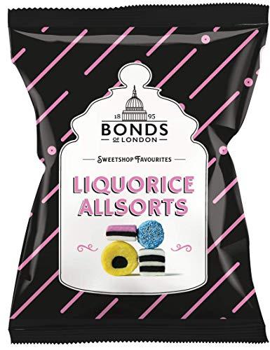 Original Bonds London Liquorice Allsorts Bag Imported From England