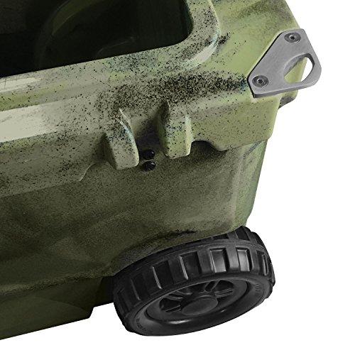 Vibe Element 70 Quart Rotomolded Hard Shell Cooler with Bottle Opener | Hunter Camo by Vibe Kayaks (Image #7)